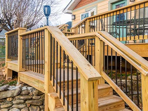 2019 First Quarter Newsletter - Easy Deck Refresh with Metal Balusters