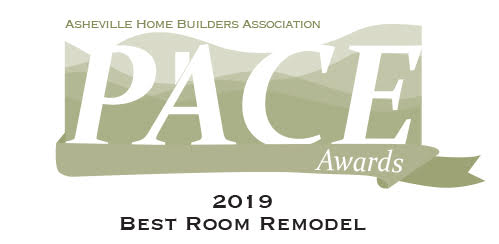 2019 Best Room Remodel PACE Award from Asheville Home Builders Association