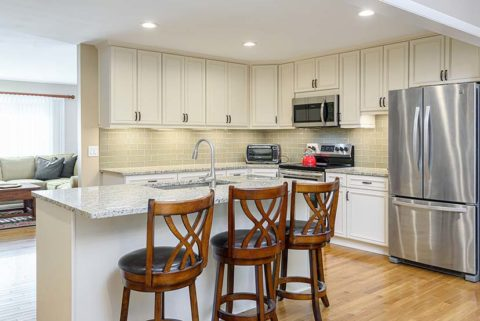 Kanawha Kitchen Remodel with Beautiful Center Island